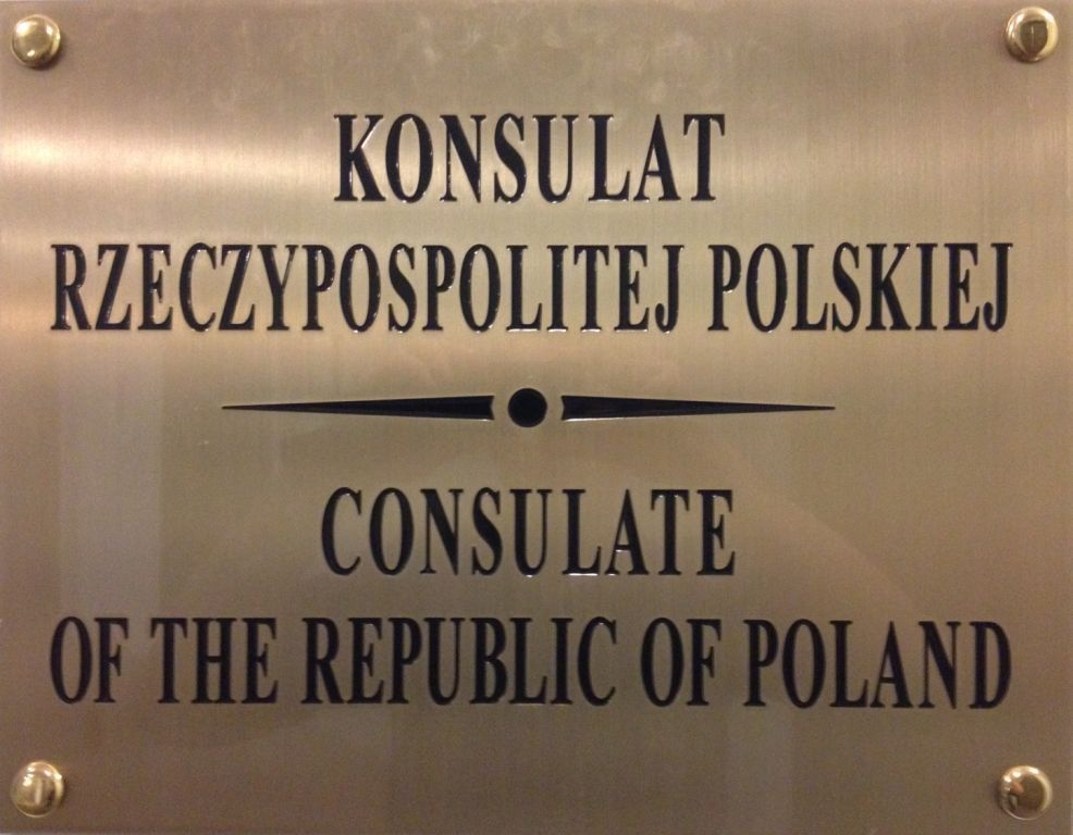Consulate Plaque